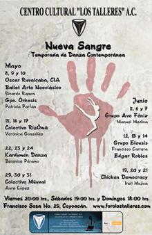 Nueva Sangre, ciclo organizado por el Centro Cultural Los Talleres, mayo 2009