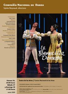 Compañía Nacional de Danza se une al XV Aniversario del Cenart con la presentación de La Fierecilla Domada, junio 2009
