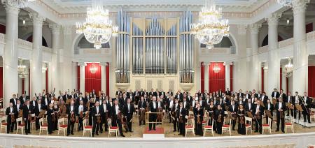 Orquesta Filarmonica de San Petersburgo dirigida por Yuri Temirkanov. Palacio de Bellas Artes, marzo 2014.