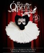 Cappella Barroca de Mexico presenta Gala de opera Barroca, en el Auditorio Blas Galindo del Cenart, octubre 2014