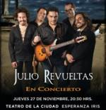 Julio Revuelas presenta su disco: Rajneesh en el Teatro de la Ciudad Esperanza Iris, noviembre 2014