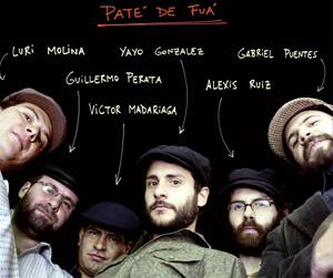 Paté de Fuá presenta El Tren de la Alegría en el Lunario del Auditorio Nacional, agosto 2009